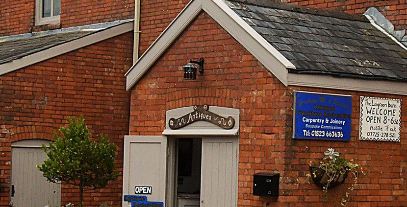 Graham Sparks Furniture Worskshop Entrance Door